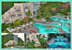 Sims 3 Finds - Hotel TEMELÍNO at JarkaD Sims3 Blog