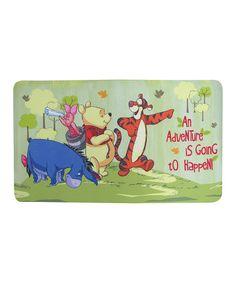Look at this #zulilyfind! Winnie the Pooh Bath Mat #zulilyfinds
