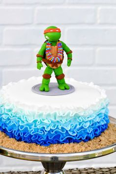 Retro Surfing Ninja Turtle Themed End of Summer Party with Totally Awesome IDEAS via Kara's Party Ideas   KarasPartyIdeas.com