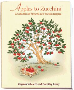 Apples to Zucchini by Virginia Schuett and Dorothy Corry. I use this a lot, it has great recipes.lots of variety and lots of produce. Low Protein Foods, Protein Diets, Protein Recipes, Pku Diet, Zucchini, New Cookbooks, Metabolic Diet, Niece And Nephew, Kids Meals