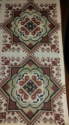 This Pin was discovered by GOG Counted Cross Stitch Patterns, Cross Stitch Embroidery, Embroidery Patterns, Palestinian Embroidery, Rug Inspiration, Cross Stitching, Needlepoint, Needlework, Diy And Crafts