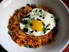 kimchi fried rice #glutenfree
