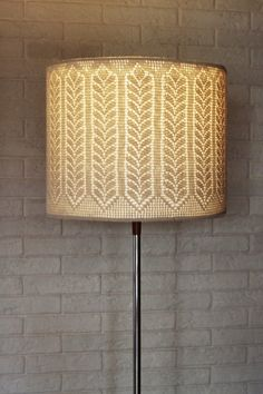 crochet cover for lamp shade