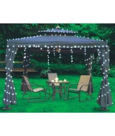 80 Light Solar String Lights Stars >>> See this great product.