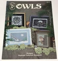 Pegasus Owls Animal Cross Stitch Pattern NEW Craft No Fabric or Floss #Pegasus