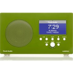 Tivoli Audio Albergo Speaker Radio | Green