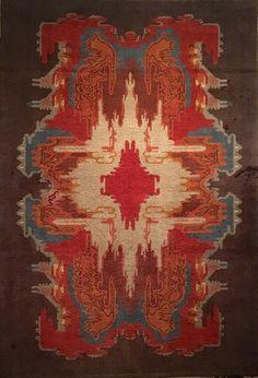 Jaap Gidding, vloerkleed/carpet ca. 1920