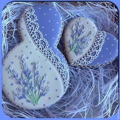 Hyacinth Lacey Cookies