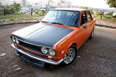 1971 Datsun 510.  I have a couple friends that had these 510s.  I believe the 68-73 year models had the sought after IFS rear suspension with a fairly bullet proof rear differential that I've heard is still used in Subarus to this day.  They are amazing handling cars with a racing heritage and a classic look to them. I've seen these things carve up an SCCA course like nobodys business.