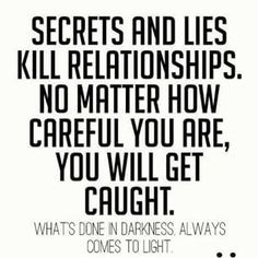 Quotes lies relationships 60 Lying