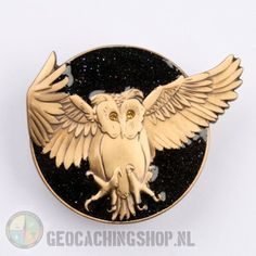 Olanda Geocoin - Black Moon