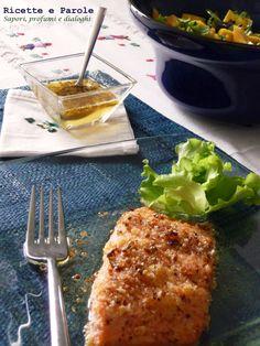 Ricette e Parole: Salmone allo zenzero con salsa al miele e coriandolo