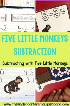 Subtraction Activities:  Get Off My Boat