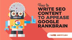 Mit diesen 5 Tipps schreibt Ihr so, dass auch Googles RankBrain sich davon angesprochen fühlt: https://www.semrush.com/blog/how-to-write-seo-content-to-appease-google-rankbrain-1/ #seonerd