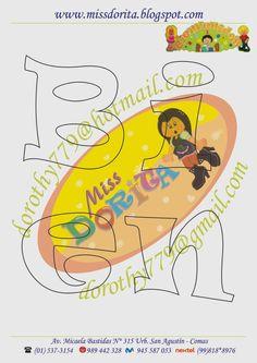 Moldes, Videos Tutoriales y Revistas Gratis de Foami, Goma Eva y microporoso, Compartir es nuestro lema y vayamos por la vida haciendo el Bien Lettering Design, Hand Lettering, Letter Templates, Tweety, Dragon Ball, Pikachu, Stencils, Applique, Scrapbook