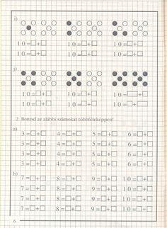 művelet-műveletre_1 - Kiss Virág - Picasa Web Albums Kids Math Worksheets, Homeschool Math, Math For Kids, Learning Centers, Tricks, Album, Teaching, Kitchens, Craft