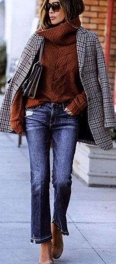 Perfect-Winter-Office-Attires-For-Women || Casual Winter Work Outfits || Casual Work Outfits ideas