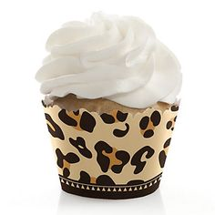 Leopard - Everyday Party Cupcake Wrappers | BigDotOfHappiness.com #BigDot #HappyDot #Leopard #BirthdayParty