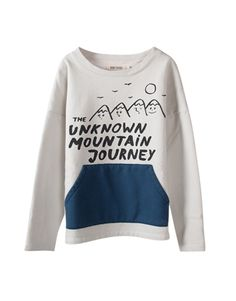 BOBO CHOSES  Unisex Unknown Mountain Pocket Sweatshirt