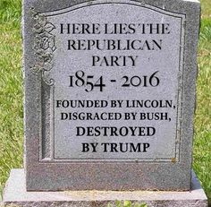 GOP...Grand Old Party...