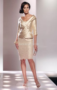2015-Mother-dress-Spring-Summer-Two-piece-Champagne-Lace-Mother-of-the-Bride-Dresses-With-Jacket.jpg 948×1,500 pixels