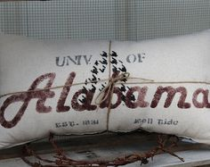 Hometown Alabama Crimson Tide Pillow