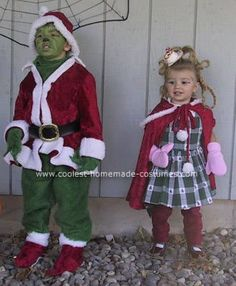 The Grinch and Cyndi Lou Who Costumes  sc 1 st  Pinterest & Nothing beats a great Cindy Lou Who costume! u2026 | Halloween Costume ...