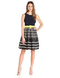 Image result for belt with fit and flare dress