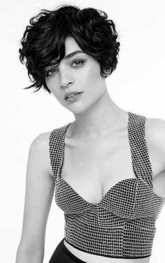 20 Stunning Curly Pixie Haircuts for 2017 Curly Pixie Haircuts, Curly Hair Cuts, Cut My Hair, Short Curly Hair, Short Hair Cuts, Curly Hair Styles, Pixie Wavy Hair, Short Wavy Pixie, Long Pixie Hairstyles
