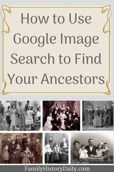 genealogy Do you have an old family photo you can't identify? Are you unsure of the time period or place a photo was taken in? Perhaps you want to connect with Free Genealogy Sites, Genealogy Forms, Genealogy Search, Genealogy Chart, Family Genealogy, Lds Genealogy, Free Genealogy Records, Find Your Ancestors, Old Family Photos