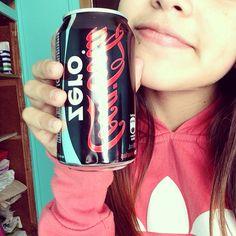 Yo con una coca-cola