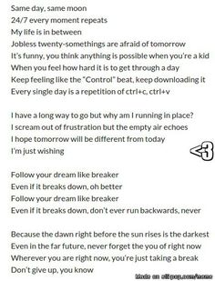 70 best bts lyrics quotes images on pinterest bts wallpaper bts the lyrics to btss tomorrow are so beautiful ccuart Image collections