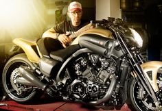 YAMAHA V-max modified By Marcus Walz