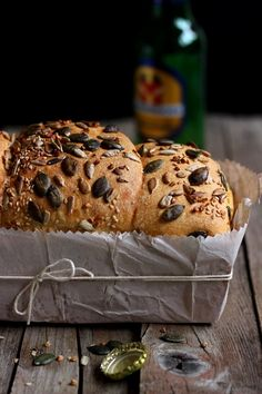 Beer Bread recipe (in Italian) | MIEL & RICOTTA