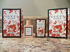880c8c05f Women's Gucci Bloom Miniature Travel Size Perfume EDP Splash 0.16oz / 5ml  NIB #Gucci