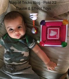 5 Months 2 Week - Cause & Effect Toys