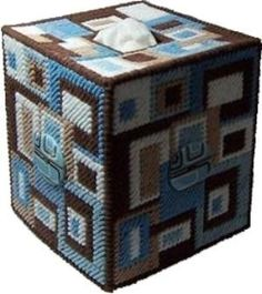 PDF FORMAT Sew Square Boutique Tissue Box Cover by kathybarwick, $2.99