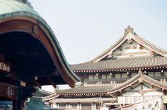 川崎大師 本堂 RolleiXF35で撮影