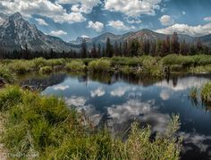 Sawtooth Mountains, ID by David Hananel Sawtooth Mountains, Landscape Photos, Pacific Northwest, Pretty Pictures, Idaho, Fly Fishing, Mother Nature, Wilderness, Beautiful Places