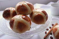 Hot Cross Buns. Cocinando con Las Chachas Blog.