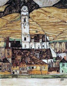 Encuentros con el arte: EGON SCHIELE. El dibujante expresionista.