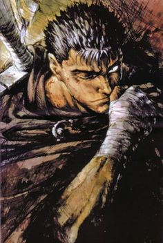 Guts The Black Swordsman Berserk