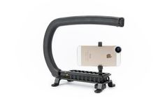 Cam Caddie Stabilizer - An incredibly simple handheld stabilizer for smooth HDSLR videos on a shoestring budget. ($39.00, http://photojojo.com/store)