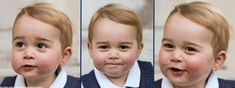 Prince George as photographed in late November 2014 (Photos released 12/13/14, by Their Royal Highnesses, The Duke and Duchess of Cambridge)