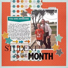 Student of the Month - Scrapbook.com