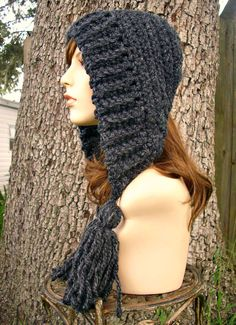 Crochet Pattern  Crochet Hat Pattern PDF for Tassel by pixiebell