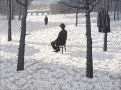 Mark Edwards. Watching The Watcher , acrylic on canvas