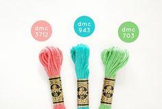 color schemes dmc floss