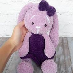 "Crochet bunny amigurumi ""Plush bunny in dress amigurumi pattern"", ""Sweet plush bunny in dress is a crochet toy by Julia Deinega. Crochet Teddy Bear Pattern, Plush Pattern, Crochet Patterns Amigurumi, Crochet Dolls, Free Pattern, Amigurumi Minta, Cat Amigurumi, Amigurumi Tutorial, Crochet Snowman"
