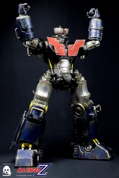 Mazinger Z full reveal and details at our Facebook page…